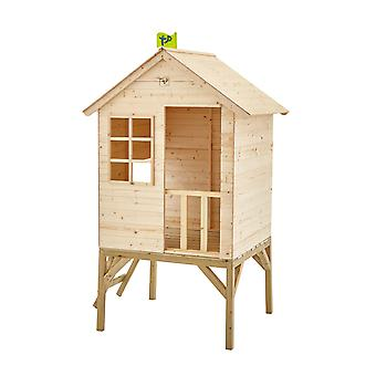 TP Toys Sunnyside Wooden Tower Playhouse