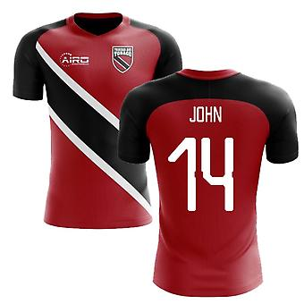 a4d1817523e 2018-2019 Trinidad And Tobago Home Concept Football Shirt (JOHN 14)