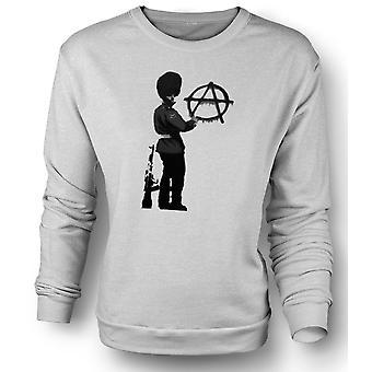 Womens Sweatshirt Banksy Graffiti Art - Anarchy