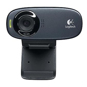 Logitech c310 webcam 30fps 1.280 x720 px interfaccia usb colore nero