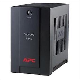 Apc bx500ci back-ups 500va 300 w 3 black sockets
