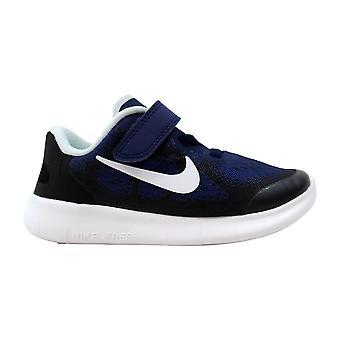Nike Free RN 2017 Binary Blue/White-Black-Volt 904257-404 Toddler