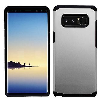 ASMYNA Silver/Black Astronoot Phone Protector Cover  for Galaxy Note 8