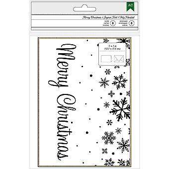 American Crafts Cards W/Envelopes 5