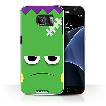 STUFF4 Case/Cover for Samsung Galaxy S7/G930/Frankenstein/Halloween Character