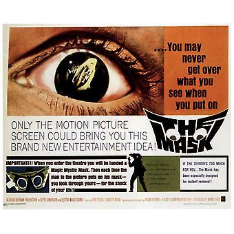Masterprint плакат фильма Маска 1961