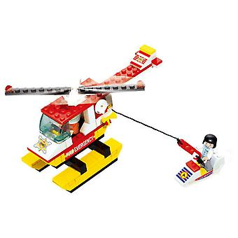Sluban Town Helicopter Fire (Toys , Constructions , Vehicles)