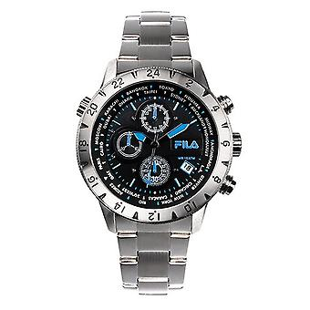 Fila men's watch chronograph stainless steel FA38-007-004