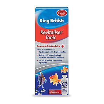 Koning Britse Aquarium Revitaliser Tonic 100ml