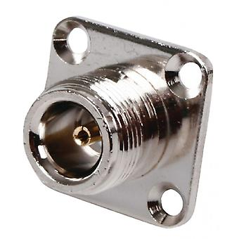 Valueline Connector N Female Metal Silver