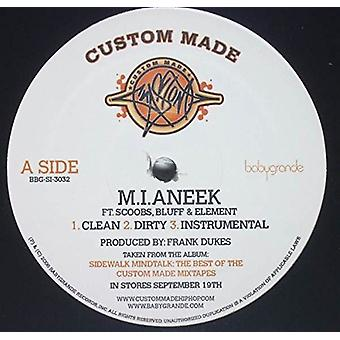 Custom Made - M.I.Aneek/Go Away [Vinyl] USA importerer