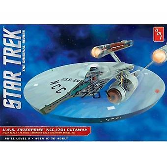 AMT Model Kit - Star Trek USS Enterprise NCC1701 Cutaway - 1:537 Scale - AMT891