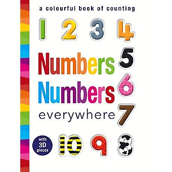 Numbers Numbers Everywhere: A Colourful Book of Counting (Hardcover) by Meredith Samantha Walden Libby