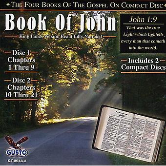 Libro de Juan - importación de Estados Unidos capítulos 1-21 [CD]
