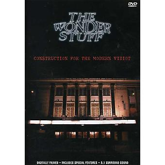 Wonder Stuff - Construction for [DVD] USA import