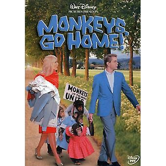 Monkeys Go Home [DVD] USA import