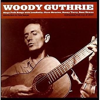 Woody Guthrie - Sings Folk Songs [CD] USA import