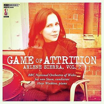 A. sierra - Arlene Sierra, Vol. 2: Spillet af nedslidning [CD] USA import