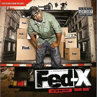 Fed-X - Drug War [CD] USA importerer