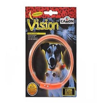 Camon Silicone Shining Light Safety Collar 32 cm (Chiens , Equipement , Colliers)