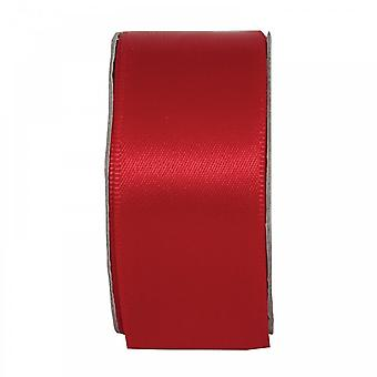 Anita's Radiant Red Wide Satin Ribbon