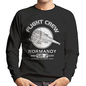 Normandiet Flight Crew Mass Effect mænds Sweatshirt