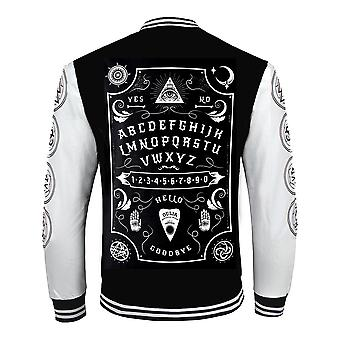 Wild Star Hearts - OUIJA BOARD VARSITY - Mens Jacket