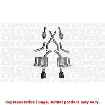 CORSA Performance Cat Back Exhaust 14459BLK Black Fits:DODGE 2011 - 2013 DURANG