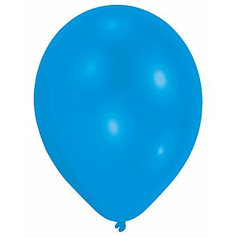 Amscan Plain Party Balloons (Pack Of 10) (10 Colours)