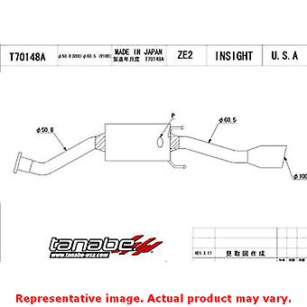 Tanabe Medalian Exhaust - Medalion Touring T70148A Fits:HONDA 2010 - 2013 INSIG