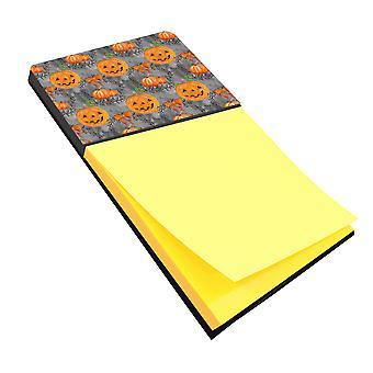 Carolines Treasures  BB7521SN Watecolor Halloween Pumpkins Sticky Note Holder