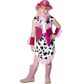 Dziecięce stroje karnawalowe strój dziewczyna Rodeo