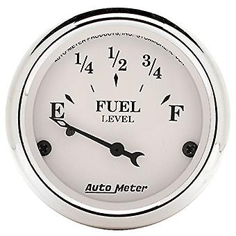 Auto Meter 1604 Old Tyme bianco indicatore livello carburante