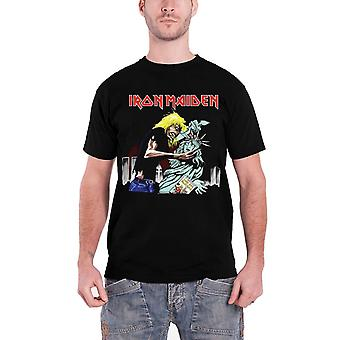 Iron Maiden T Shirt  Eddie Beast of New York Liberty logo Official Mens Black
