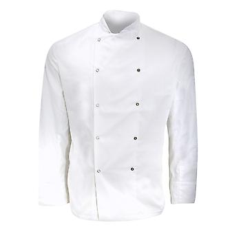 Dennys Mens Long Sleeve Chefs Jacket / Chefswear