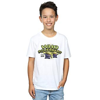Disney Boys Toy Story Who Squeaked? T-Shirt
