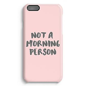 iPhone 6 Plus Full Print Case (Glossy) - Morning person