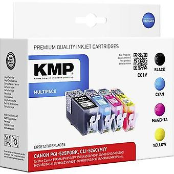 KMP Ink replaced Canon PGI-525, CLI-526 Compatible Set