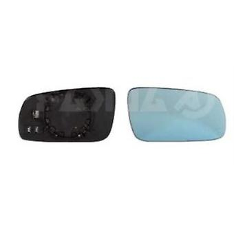 Right Mirror Glass (heated blue glass) & Holder For Audi A4 Avant 1995-2001