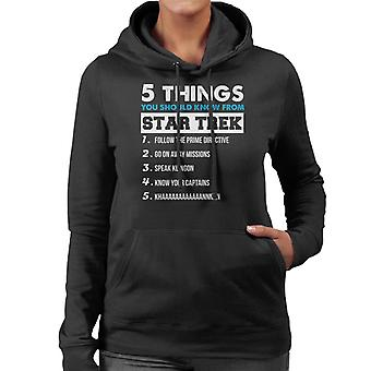 Five Things You Should Know From Star Trek Women's Hooded Sweatshirt