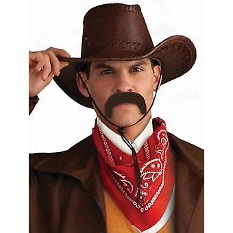 Pancho Mexican Tequila Bandido Brown Men Costume Moustache