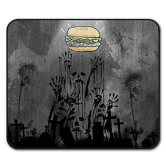 Ghost Apocalypse Zombie Non-Slip musen Mat Pad 24 cm x 20 cm | Wellcoda