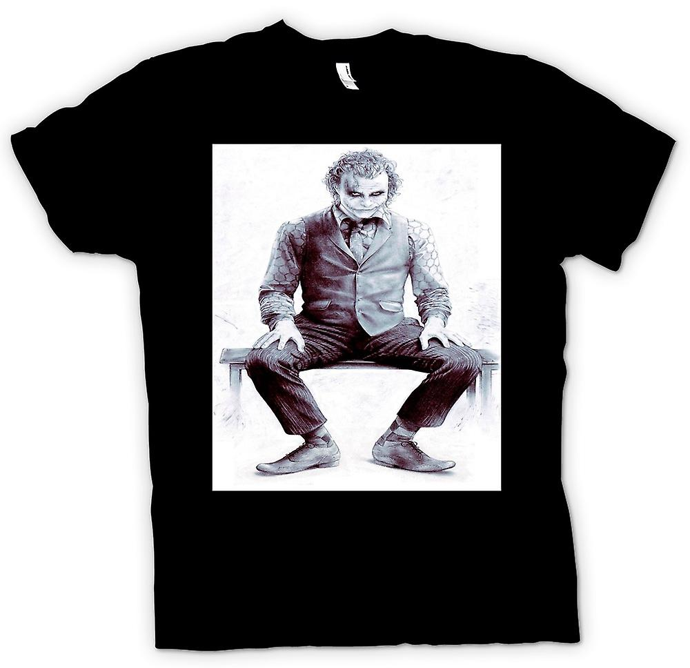 Heren T-shirt - Joker vergadering - Batman