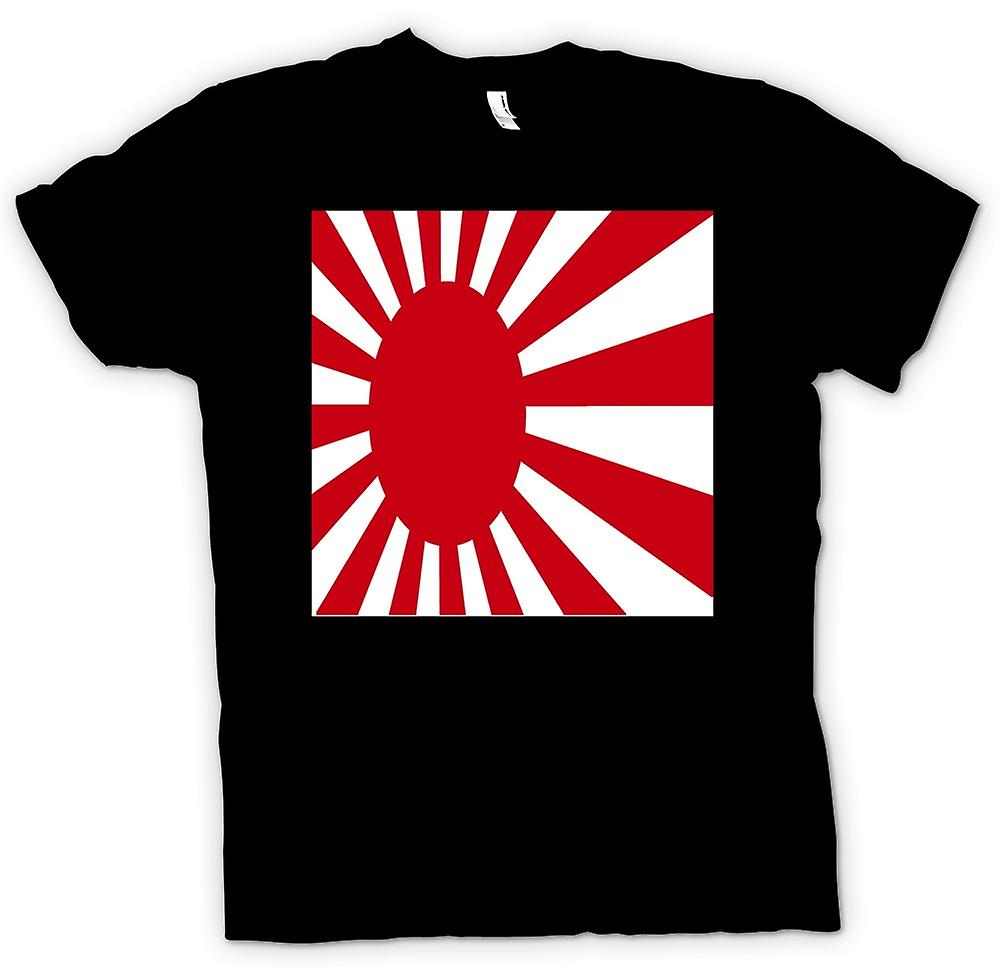 Mens T-shirt - Japanese Flag - Cool
