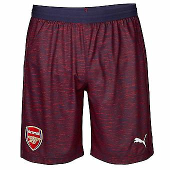 2018-2019 arsenal Away Short da calcio (blu marino)
