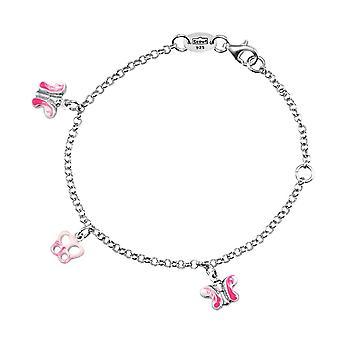 Scout Kinder Armband Kinderarmband Silber Schmetterling Mädchen 260234100