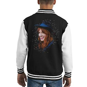 Florence Welch Radio 1 Live Lounge Special 2011 Kid's Varsity Jacket