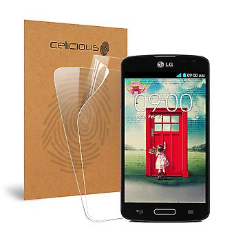 Celicious Vivid Invisible Glossy HD Screen Protector Film Compatible with LG F70 D315 [Pack of 2]