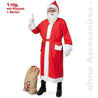 Traje de Nicholas capa los hombres de traje de Navidad Santa Claus Señor