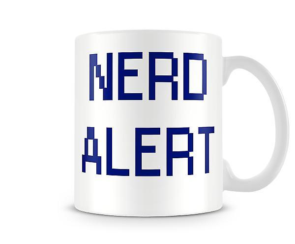 Nerd Alert Tasse Imprimé